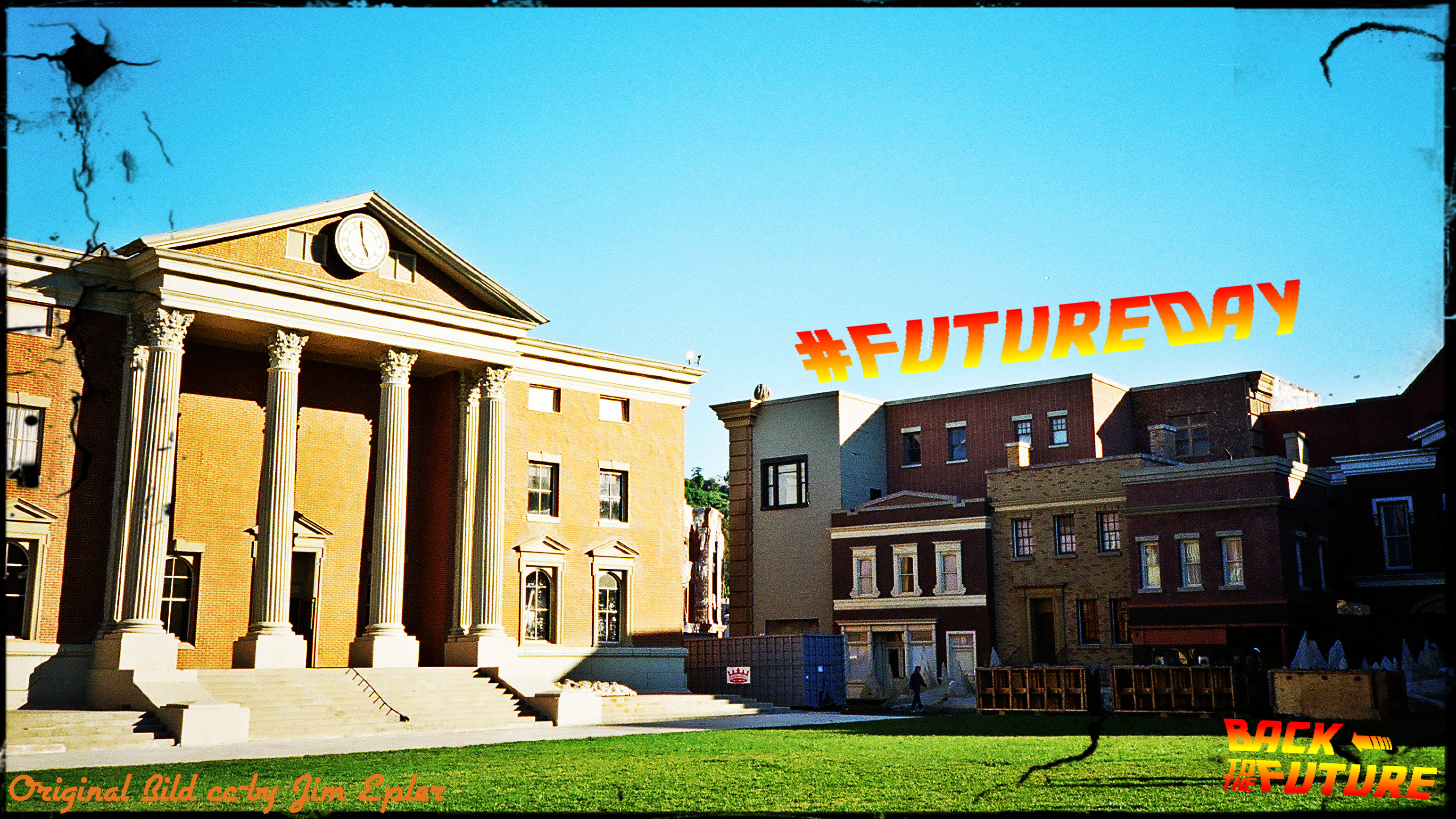Final_BTTF_FutureDay_Courthouse Square Universal Studios - cc-by Jim Epler